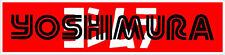 "#564 6"" Yoshimura superbike sponsor decal racebike race vinyl CBR GSXR LAMINATED"