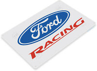 Powered By Ford Metal Sign Garage Auto Shop Business Service Station Wall Decor