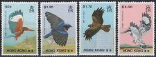 Hongkong 1988 ** Mi.536/39 Tiere Animals Vögel Birds   Rüttelfischer