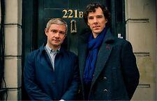 "BBC Sherlock Holmes - UK Imported 17"" X 11"" Sherlock & Watson 221B Poster Print"
