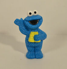 "3"" Cookie Moster Binoculars Hollow PVC Action Figure Sesame Street Cake Topper"