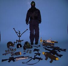 "Blue Box BBI 12"" Military Action Figure with Weapons"
