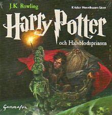 CD HÖRBUCH SCHWEDISCH: Harry Potter och Halvblodsprinsen, 24 Stunden 21 CD NEU