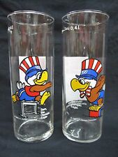 Coca-Cola 1984 Olympic Glass Set of 2