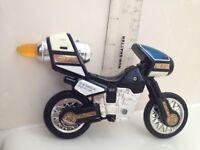 🔴 Vintage Mighty Morphin Power Rangers Motorcycle Bike 1996 bandai Black