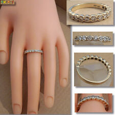 Diamant Ring Halb Memory 585 Gold 14k Gelbgold