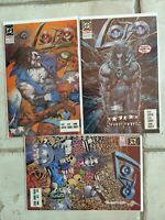 DC's Lobo Mini Series (#2-4) First Prints NM