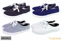 Mens Canvas Shoes Lace Up Casual Colors Sneakers Kicks Originals Lowtop Footwear