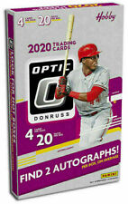 2020 Panini Donruss Optic Baseball Factory Sealed Hobby Box 20ct ~ 2 Autographs