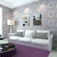 3d non-woven fabric wallpaper modern simple style bedroom living room 0.53m 10m