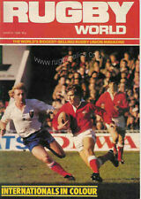 RUGBY WORLD MAGAZINE MARCH 1984 - PERFECT GIFT FOR A FAN BORN IN THIS MONTH