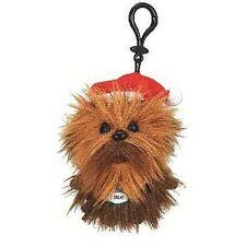"""STAR Wars SANTA Chewbacca 4 """"parlare Peluche con Clip Nuovo Grande Dono Natale"""