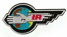 Thunderbirds International Rescue Logo Embroided Patch - Sew-on / Iron-on Patch