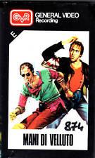MANI DI VELLUTO  (1990) VHS  GVR  Celentano Giorgi