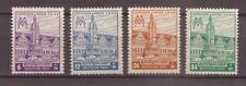 1946 West-Sachsen - Michel 162-165 Leipziger Messe ** postfrisch
