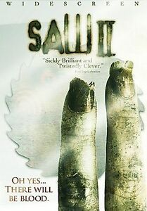 Saw DVD Authentic Widescreen Edition First Film in the Series New Factory Sealed