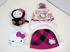 Hello Kitty Beanie Fleece Winter Hat Halloween Plush