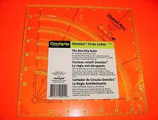Omnigrid Omnigrip OmniArc Circle Cutter - 8 inch x 8 inch Square for Quilting