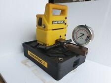 Enerpac PUJ1201E Hi Pressure Electric Hydraulic Pump, 230VAC, 2 Speed,10000 PSI