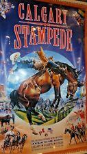 Calgary Alberta Canada Rodeo Stampede July 9-18 1999 Laminated Poster