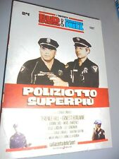 DVD N°24 I MITICI BUD SPENCER & TERENCE HILL POLIZIOTTO SUPERPIU'