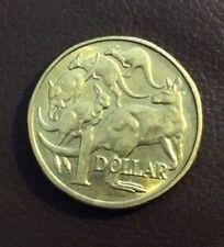 1984 FIRST AUSTRALIAN DOLLAR COIN, KANGAROOS, QUEEN ELIZABETH II