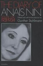 The Diary of Anais Nin, 1931-1934 Vol. 1 by Anaïs Nin 1969 Paperback