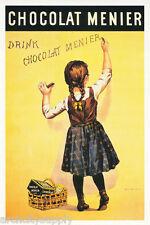 POSTER :ADVERTISING: CHOCOLATE MENIER  - FREE SHIPPING ! #ST3039  RAP123 B