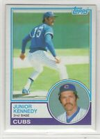 1983 Topps Baseball Chicago Cubs Team Set Ryne Sandberg Rookie