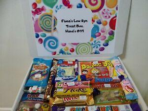 DIET  CHOCOLATE SWEET BOX LOW SYN HAMPER GIFT BOX SLIMMING WORLD DIARY BIRTHDAY