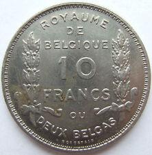 BELGIEN 10 FRANCS 1930 in VORZÜGLICH !!!
