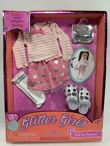 Glitter Girls by Battat - Spot The Shimmer Deluxe Skirt and Top Outfit - Doll