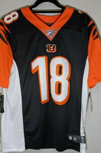 Nike Cincinnati Bengals AJ Green #18 100th Home Limited Jersey Size L cq3504-010