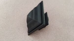 """Black Finial For 1"""" drapery curtain Rod- Square, Cage, Ball, Spear, Hook Endcap"""