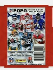 2020 NFL Panini Sticker & Card Collection Packs - ( 5 ) Packs BRAND NEW SEALED