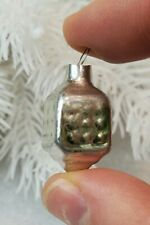 Mini Bauble Lantern Antique Christmas Decor Glass Vintage