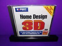 Expert Software Home Design 3D PC CD ROM Windows 95/3.1 B490