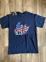 5.11 Tactical Grunt Flag T Shirt Mens Medium With Tags