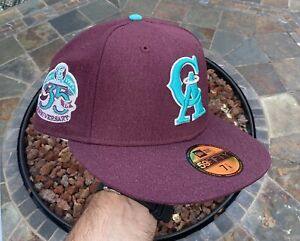 Hat Club Exclusive Los Angeles Angels 7 1/8 Ice Cold Fashion x Ducks Crosscheck
