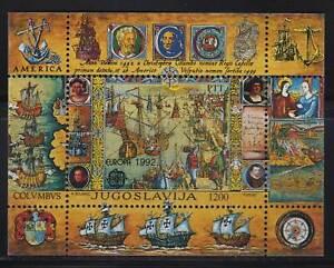 Yugoslavia Europa CEPT 1992, 500th a. discovery of America  MNH
