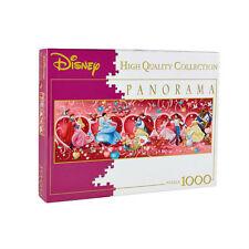 CLEMENTONI Puzzle panorama DISNEY Princesses 1000 pièces sous blister neuf