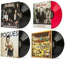 POGUES - 4 CLASSIC ALBUMS - 180 G. FULL LENGTH - VINYL LP BUNDLE OriginalArtwork
