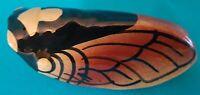 Small Cicada Vase Ceramic Provence Vallauris NOS 13