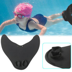 1pc Adult Kids Mermaid Flippers Swimming Training Aid Monofin Frogman Diving
