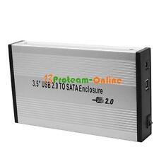HOT USB 2.0 SATA 3.5 Inch HDD Hard Disk Cartridge Enclosure Drive External Case