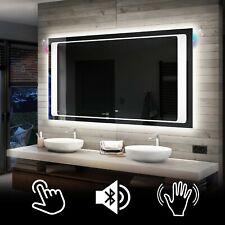 Illuminated LED Bathroom Backlit Mirror TOUCH  or SENSOR SWITCH | BLUETOOTH | 61