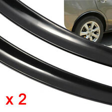 2x Car Fender Flare Wheel Eyebrow Protector Rubber Sticker Wheel Arch Trim Strip