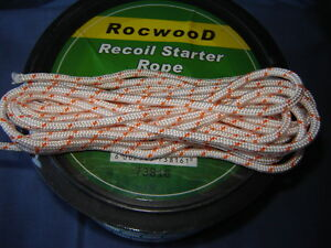 3 MTR 2.8mm PULL CORD ROPE IDEAL SMALL PETROL LAWNMOWERS