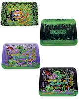 2x Ooze Design Roll Tray ( Small 10 x 7 ) Mix  Match Purple Alien Surfer Factory