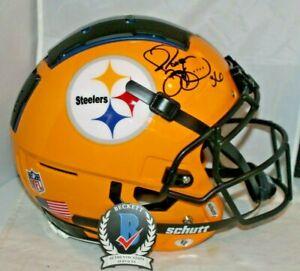 Jerome Bettis Autographed Signed Pittsburgh Steeler Custom Full Size Helmet BAS
